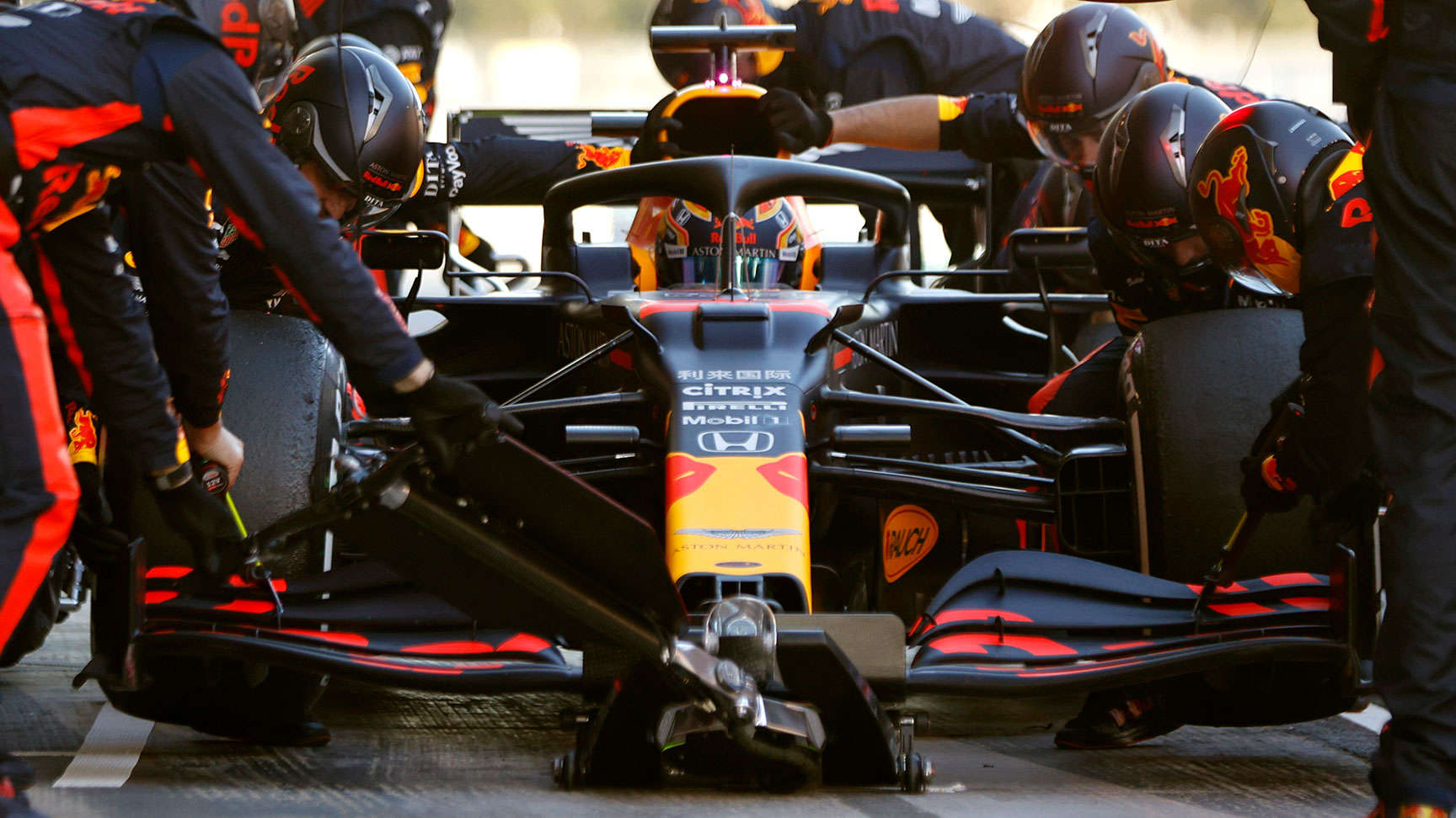 Aston Martin Red Bull racing car.