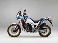 Côté gauche du trail Honda Africa Twin Adventure Sports