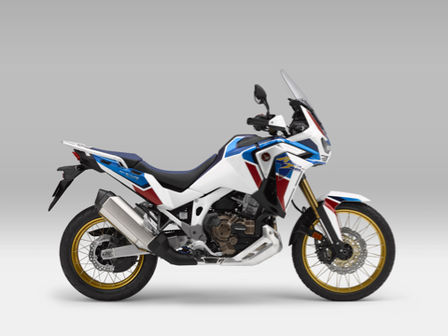 Côté droit du trail Honda Africa Twin Adventure Sports