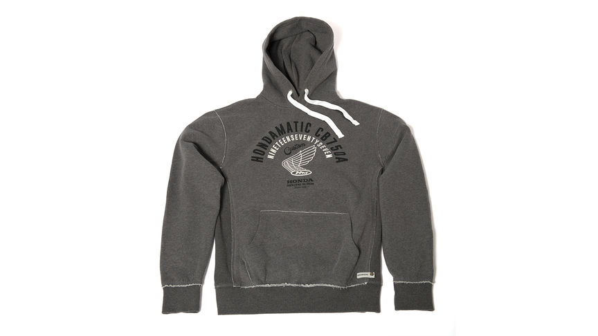 Sweat Hondamatic gris